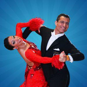 Gokturk and Asli Yurtapan dancing