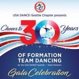 Cheers to 30 years of formation team dancing…a fabulous gala celebration!